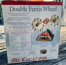 Mr. Christmas Double Ferris Wheel With 30 Songs and Classics