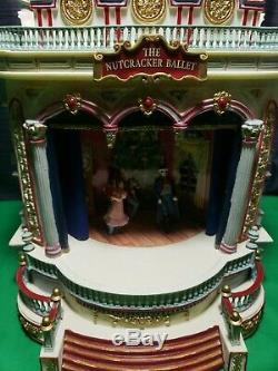 Mr. Christmas European Opera House The Nutcracker Ballet As Is Parts/ Repair
