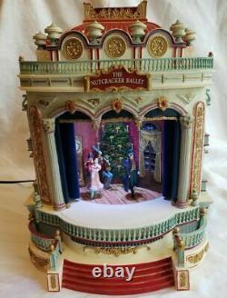 Mr. Christmas European Opera Nutcracker Ballet Stage-3 Scenes Music Box VIDEO