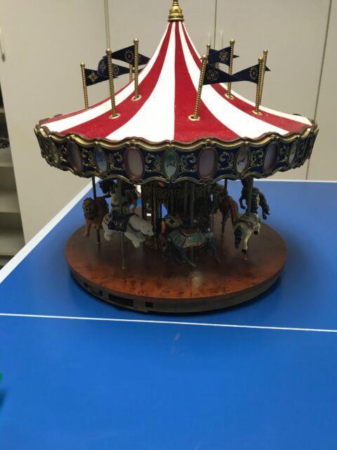 Mr. Christmas G27 Carousel Beautiful! Rotates And Music Plays