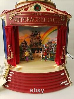 Mr. Christmas Gold Label 2001 The Nutcracker Suite Musical Carousel WORKING &NEW