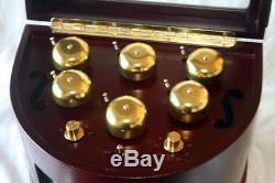 Mr Christmas Gold Label Animated Music Box Symphony of Bells Xmas Tree NWOB