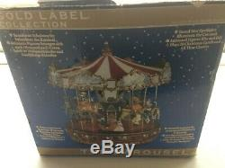 Mr. Christmas Gold Label Animated Musical, The Carousel in Box