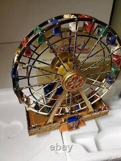Mr. Christmas Gold Label Collection World's Fair Ferris Wheel in Original Box