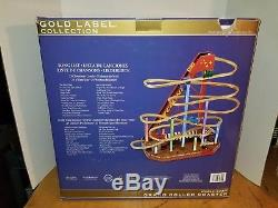 Mr Christmas Gold Label Collection World's Fair Roller Coaster Brand New in Box