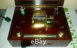 Mr. Christmas Gold Label Harmonique Music Box With ...