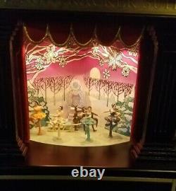 Mr Christmas Gold Label NutCracker Suite 2010 Model runs perfect original box
