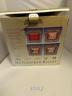 Mr. Christmas Gold Label Nutcracker Ballet For Parts Only Music Box Read Below