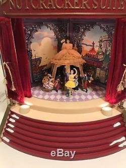 Mr Christmas Gold Label Nutcracker Suite Ballet Animated Music Box Carousel