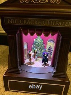 Mr Christmas Gold Label Nutcracker Theater Animated Musical Ballet 2011