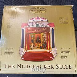 Mr. Christmas Gold Label The Nutcracker Suite Musical Carousel NOT WORKING