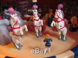 Mr. Christmas Gold Label World's Fair Big Top Circus Tested, original box