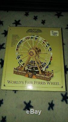 Mr Christmas Gold Label World's Fair Ferris Wheel BNIB