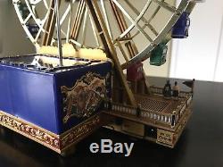 Mr Christmas Gold Label World's Fair Ferris Wheel In Box
