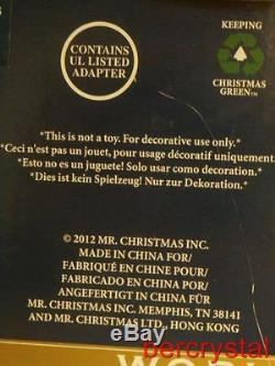 Mr. Christmas Gold Label World's Fair Swing Carousel #79841 30 Songs LED Lights