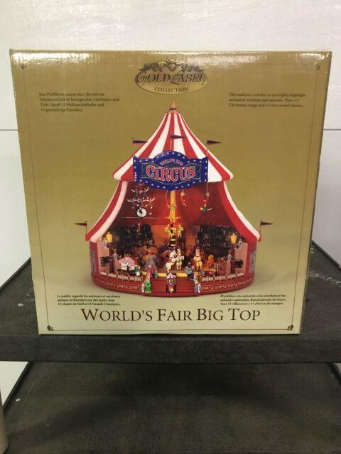 Mr Christmas Gold Label Worlds Fair Big Top Circus