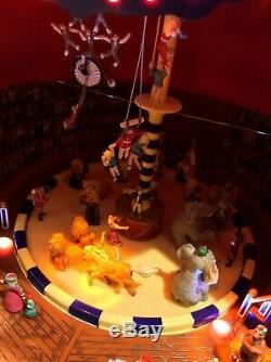 Mr. Christmas Gold Label Worlds Fair Big Top Circus (MC9)