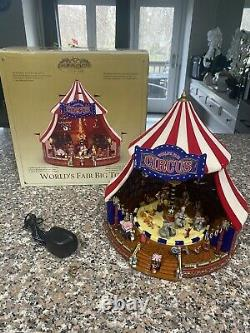 Mr Christmas Gold Label Worlds Fair Big Top in Excellent Working Condition