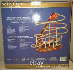 Mr. Christmas Gold Label Worlds Fair CYCLONE ROLLER COASTER RIDE Working WithBox