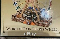 Mr. Christmas Gold Label Worlds Fair Ferris Wheel BRAND NEW