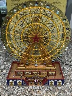 Mr Christmas Gold Label Worlds Fair Grand Ferris Wheel 75th Anni Edition