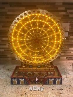 Mr Christmas Gold Label Worlds Fair Grand Ferris Wheel With Box PLEASE READ