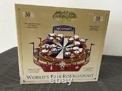 Mr Christmas Gold Label Worlds Fair Roundabout (Teacups)