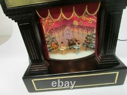 Mr. Christmas Heirloom Nutcracker Suite Ballet Stage Action Music Box VIDEO