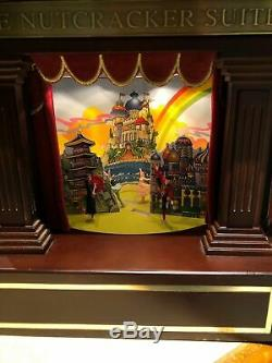 Mr. Christmas Heirloom Nutcracker Suite Moving Ballet Music Box VIDEO