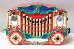 Mr Christmas Holiday 9 Pc. Animated Circus Carousel