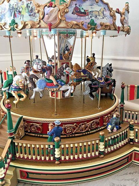 Mr. Christmas Holiday Around The Carousel 1997 30 Songs Boardwalk Complete Works