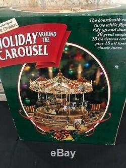 Mr. Christmas Holiday Around the Carousel 1997 Animated Musical 30 Songs