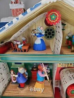 Mr. Christmas Holiday Innovation Santa's Musical Workshop-Plays Music Lights Up