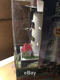 Mr. Christmas Holiday Lighthouse Door County Cana Working Lights And Sounds
