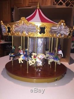 Mr Christmas Jubilee Carousel