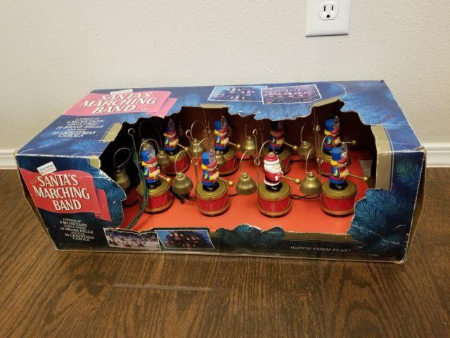 Mr. Christmas Marching Band Santa 8 Musicians 35 Songs 1992 Vintage In Box