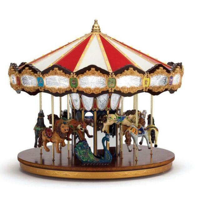 Mr. Christmas Marquee Grand Carousel 16 Animated 40 Songs