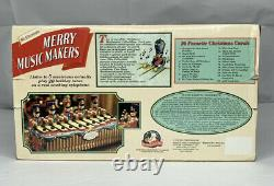 Mr. Christmas Merry Music Makers 1996 Mechanical Soldiers Tested Works