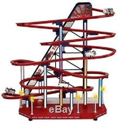Mr. Christmas Mr. Christmas Animated LED 1939 World's Fair Roller Coaster Decor