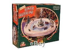 Mr Christmas Musical Animated Winter Wonderland Park Fountain