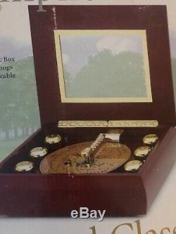 Mr. Christmas Musical Bell Symphonium Music Box with 16 Discs + Bonus 8 Discs (24)