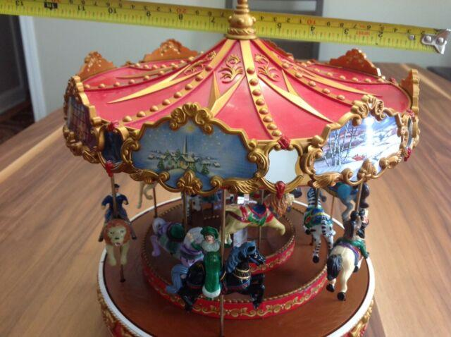 Mr. Christmas Musical Carousel (1997) &mr. Christmas Music Ferries Wheel