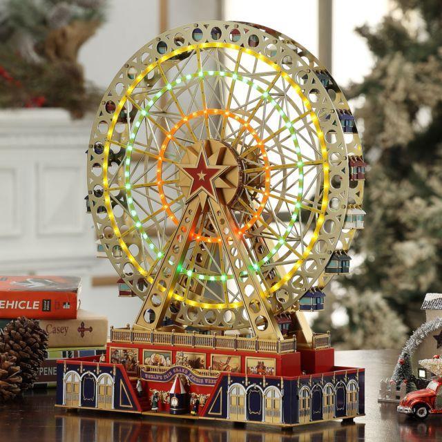 Mr. Christmas Musical World's Fair Grand Ferris Wheel 25 Christmas Carols 15