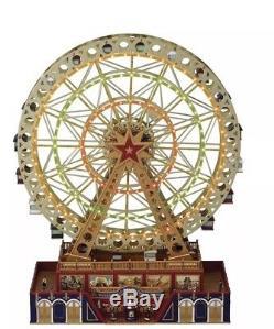 Mr Christmas Musical World's Fair Grand Ferris Wheel New Sealed
