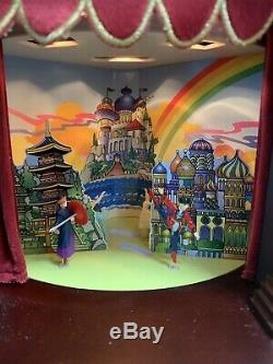 Mr Christmas NUTCRACKER SUITE Wood Theatre Musical 4 Scenes 8 Songs