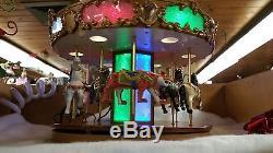 Mr. Christmas New Grand Carousal Plays 30 Songs Sale