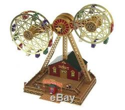 Mr. Christmas Nottingham Double Ferris Wheel NIB