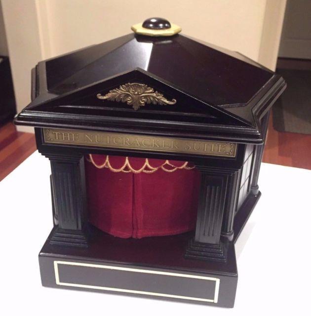 Mr Christmas Nutcracker Suite Ballet Animated Music Box