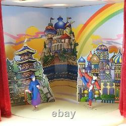 Mr Christmas Nutcracker Suite Ballet Stage Multi-Action Lights Musical Working