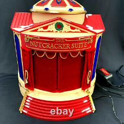 Mr Christmas Nutcracker Suite Gold Label Musical Theatre 1999 4 Scenes Works